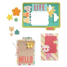 Sizzix Thinlits Die Set - Hello Life (14 dele)