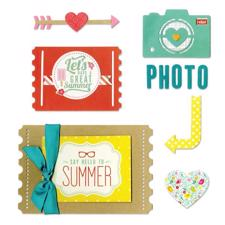 Sizzix Thinlits Die Set - Photo Love (13 dele)