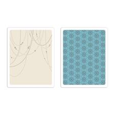 Sizzix Texture Embossing Folders - Tim Holtz / Beaded Garland