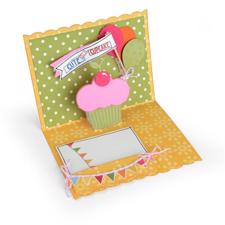 Sizzix Thinlits - Card / Birthday Pop-Up