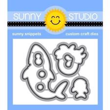 Sunny Studio Stamps - DIES / Sea You Soon