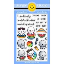 Sunny Studio Stamps - Clear Stamp / Sealiously Sweet