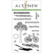 Altenew Clear Stamp Set - Shadow Play