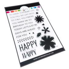 Catherine Pooler Stamps - So Happy Sentiments