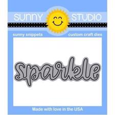 Sunny Studio Stamps - DIES / Sparkle Word