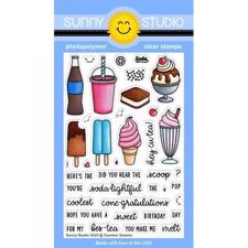 Sunny Studio Stamps - Clear Stamp / Summer Sweets