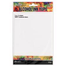 Tim Holtz Alcohol Ink YUPO Paper - Translucent