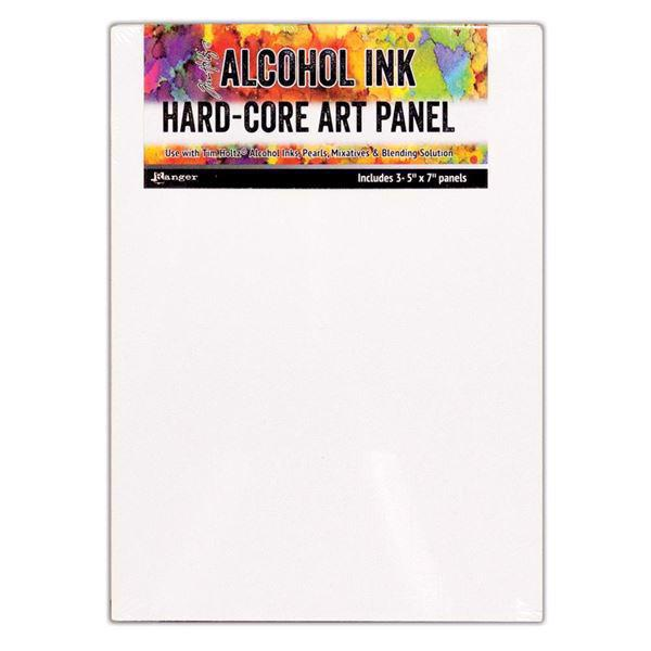 "Ranger Alcohol Ink Hard Core Art Panels - Rectangle 3-pack (5x7"")"