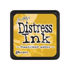 Distress Ink Pad MINI - Fossilized Amber