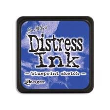 Distress Ink Pad MINI - Blueprint Sketch