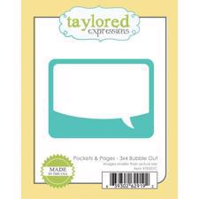 "Taylored Expressions Dies - 3x4"" Bubble Out"