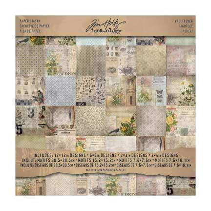 Tim Holtz - Paper Stash Wallflower 12x12""