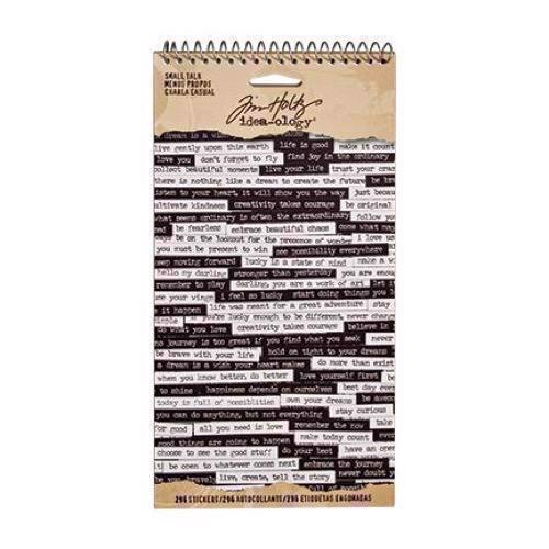 Tim Holtz / Idea-ology - Small Talk Stickers