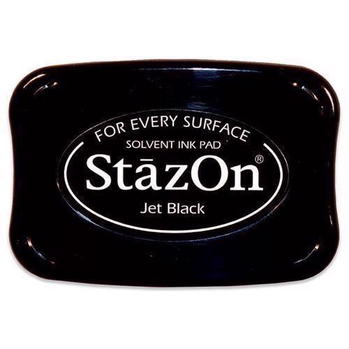 Staz-On Stempelsværte - Jet Black
