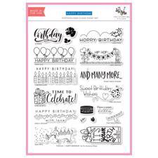 The Stamping Village Stamp Set - Happy Birthday