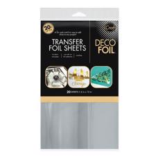 iCraft Deco Foil - Foil Sheets / Silver - VALUE pack