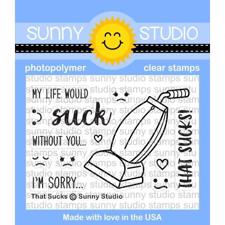 Sunny Studio Stamps - Clear Stamp / That Sucks