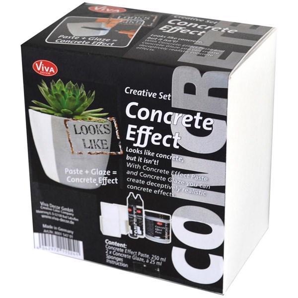 viva decor concrete effect creative set beton effekt. Black Bedroom Furniture Sets. Home Design Ideas