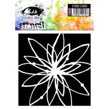 Visible Image Stencil - Atomic Flower