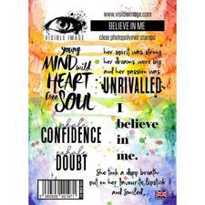 Visible Image Clear Stamps - Believe in Me