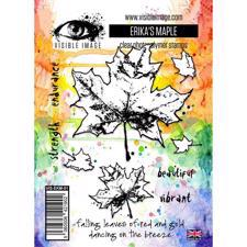 Visible Image Clear Stamps - Erika's Maple