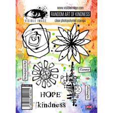 Visible Image Clear Stamps - Random Act of Kindness