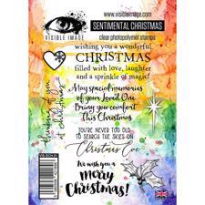 Visible Image Clear Stamps - Sentimental Christmas