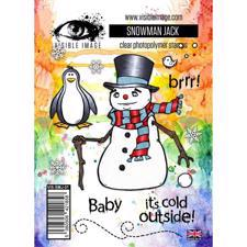 Visible Image Clear Stamps - Snowman Jack