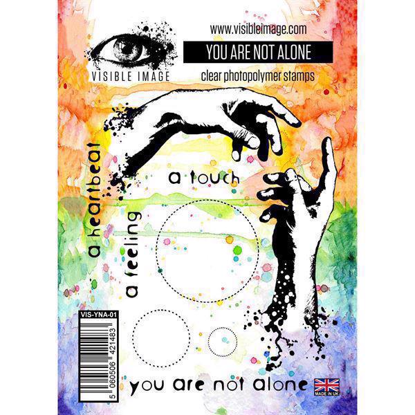 Visible Image Clear Stamps - You are not Alone
