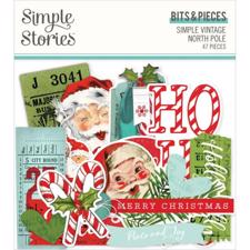 Simple Stories Die Cuts - Bits & Pieces / North Pole