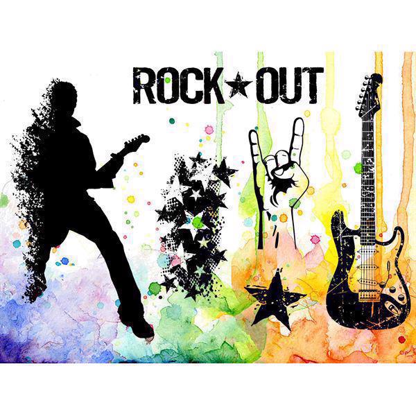 Visible Image Clear Stamps - Rock Out