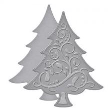 Spellbinders D-Lite Die - Fancy Tree