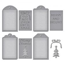 Spellbinders Shapeabilities Dies - Christmas Tags Set