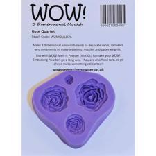 WOW Silicone Mould - Rose Quartet