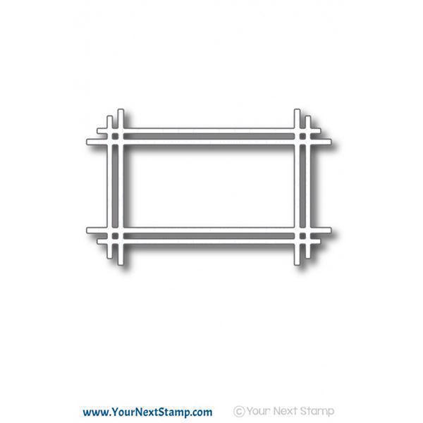 Your Next Stamp Die - Rectangle Stick Frame