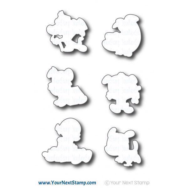 Your Next Stamp Die Set - Pawsome Pups (DIES)