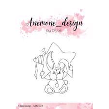 Anemone_Design by Ditte Clearstamp - Star Rabbit