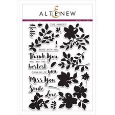 Altenew Clear Stamp Set - Floral Shadow
