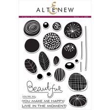 Altenew Clear Stamp Set - Simple Flowers