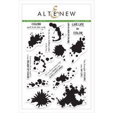 Altenew Clear Stamp Set - A Splash of Color