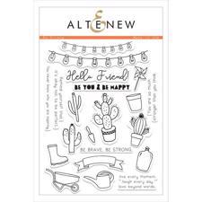 Altenew Clear Stamp Set - Be Strong