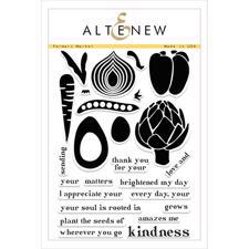Altenew Clear Stamp Set - Farmers Market