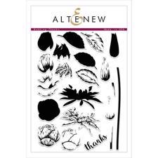 Altenew Clear Stamp Set - Budding Thanks