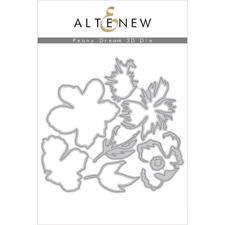 Altenew DIE Set - Peony Dream 3D (die)