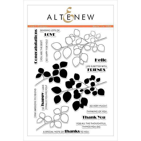 Altenew Clear Stamp Set - Leaf Canopy