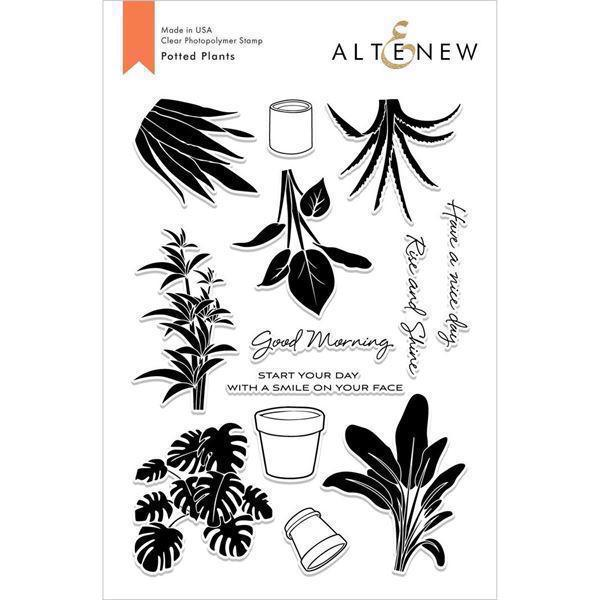 Altenew Clear Stamp Set -  Potted Plants