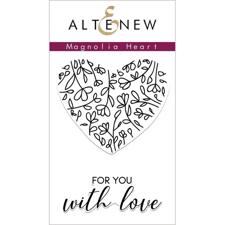 Altenew Clear Stamp Set -  Magnolia Heart
