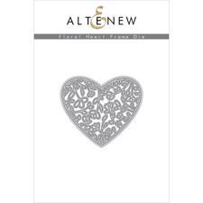 Altenew DIE Set - Floral Heart Frame (die)