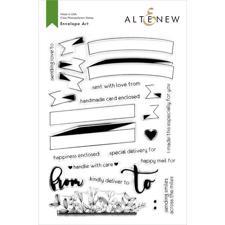 Altenew Clear Stamp Set - Envelope Art