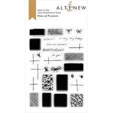 Altenew Clear Stamp Set - Piles of Presents